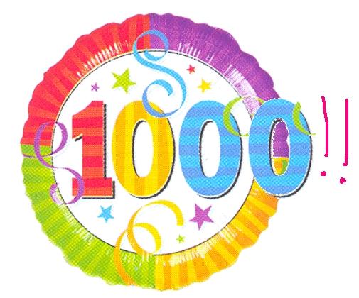 هــدى الهــدى 1000 مشاركة مبروك الألفية 1000-subscribers